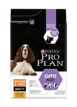 Pro Plan OptiAge Medium/Large Adulto 7+ frango
