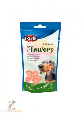 flowers snack trixie