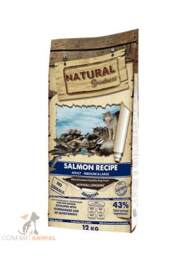 Ração Natural Greatness Medium & Large Salmão Sensitive