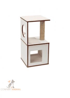 arranhador vesper box branco catit