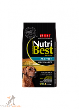 nutribest activity frango 15kg
