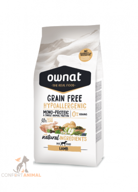 ownat grain Free hypo-allergenic lamb