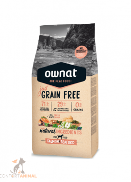 ownat just grain free salmão