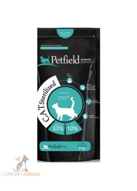 Petfield Gato Sterilized 2kg