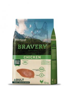 Bravery Chicken Adult Medium-Large Grain Free