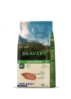 Bravery Chicken Adult Mini-Small Grain Free