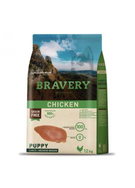 Bravery Chicken Puppy Medium-Large Grain Free
