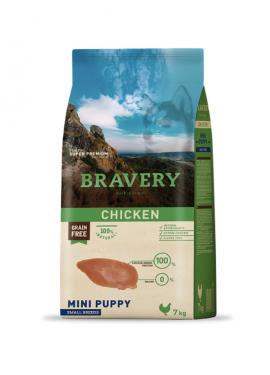Bravery Chicken Puppy Mini Grain Free