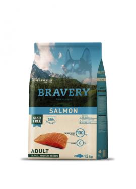 Bravery Salmon Adult Medium-Large Grain Free