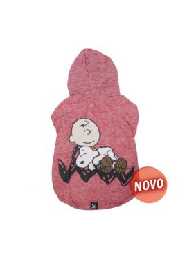 camisola snoopy coral sleeping