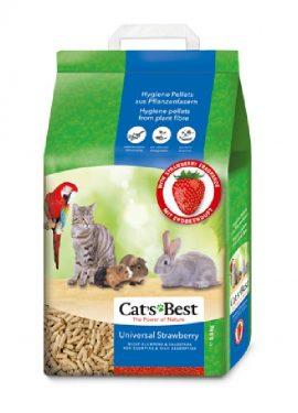 Areia / Litter Cat's Best Universal Morango - 10 L